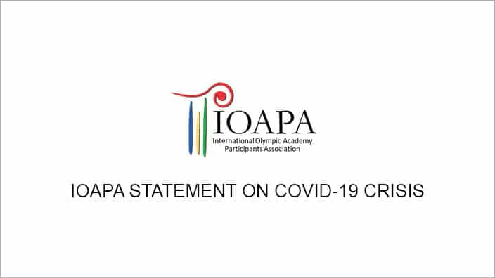 IOAPA Statement on COVID-19 Crisis