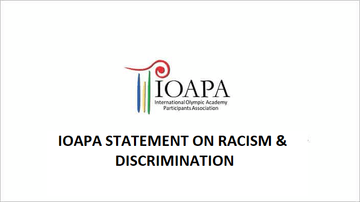 IOAPA Statement on Racism & Discrimination