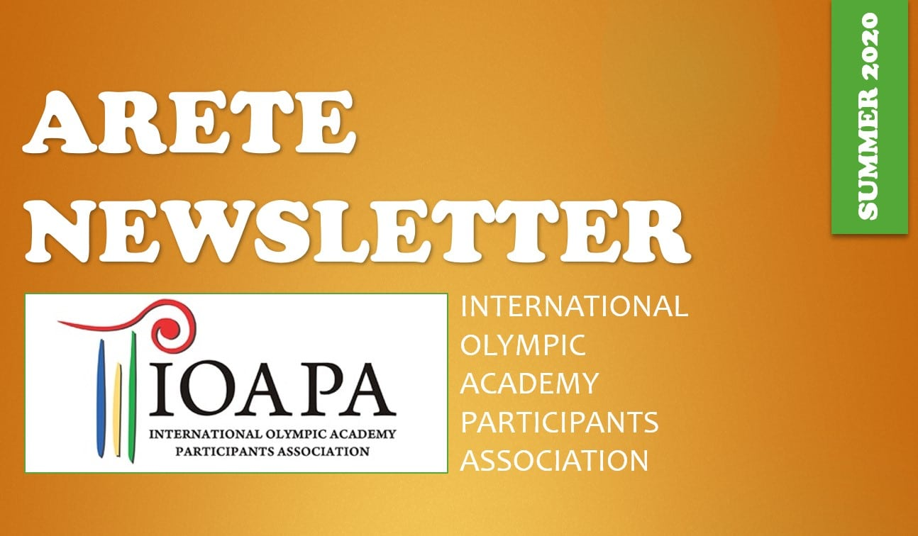 Arete Newsletter Summer 2020 issue